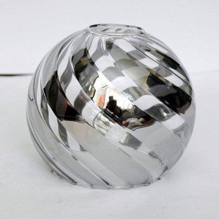 Klosz szklany kula otwarta 14,5 E27