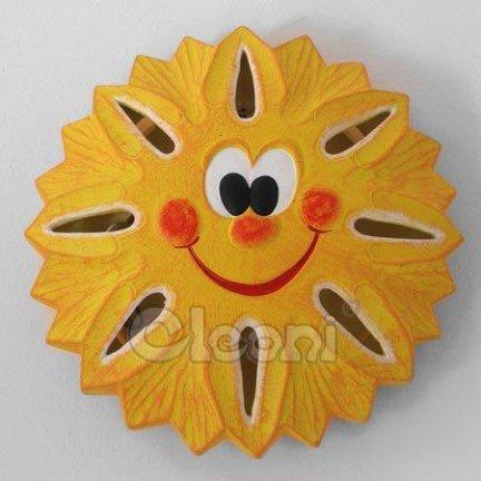 CLEONI KINKIET SŁOŃCE pomarańczowe GK600C5402