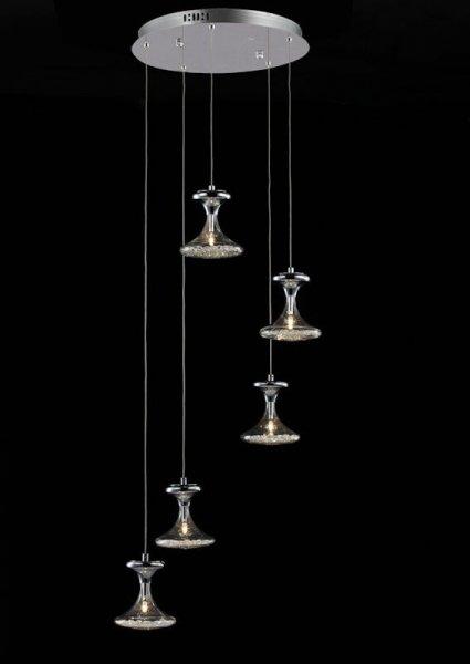 Lampa wisząca, lampa sufitowa Italux Nueva MD112906-5B