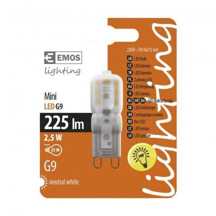 Żarówka LED G9 2.5W