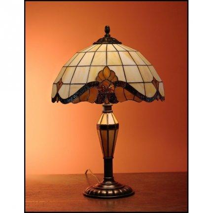 Lampka witrażowa   Classic z karem średnica 30cm Baro