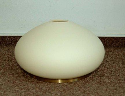 Klosz szklany KL4304/OP.BEŻ+OBR- klosze do lamp