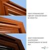 Nawiewnik higrosterowany EMM + okap standardowy - 5 kolorów