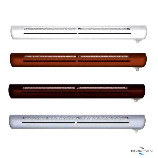 Nawiewnik higrosterowany EXR + łącznik akustyczny (bez okapu) - 5 kolorów