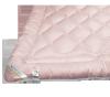 Kołdra wełniana, wełna Inter-Widex 155x200 wz. różowy
