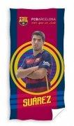 Ręcznik kibica  - FC Barcelona Suarez - rozmiar 70x140cm