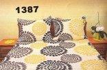 Pościel kora 160x200 , 100% bawełna wz. K1387 zapinana na zamek