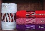 Ręcznik PROMOCJA Simba rozmiar 50x90 - Czerwony