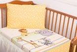 Pościel dziecięca do łóżeczka 100x135 wz. Zoo 019 ZU