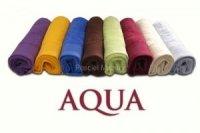 Ręcznik jednobarwny AQUA rozmiar 70x140 zielona trawa