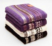 Ręczniki Silver - rozmiar 70x140 wz. ecru