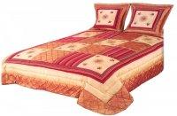 Narzuta na łóżko 240x260 + 2 poszewki 40x40 wz. Wiktoria 06