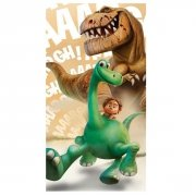 Ręcznik plażowy Dobry Dinozaur 01 - rozmiar 70x140