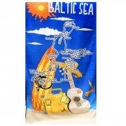 Ręcznik plażowy wz. Baltic Sea - rozmiar 70x148