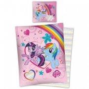 Pościel licencyjna Disney 100% bawełna 160x200 lub 140x200 Little Pony - MLP 29 DC