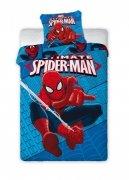 Pościel licencyjna polarowa Spider-Man 160x200 wz. 030