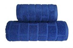 Ręcznik BRICK 70x140 kolor granatowy