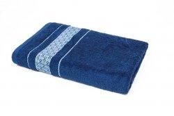Ręcznik LUKSOR - rozmiar 50x90 wz. Granat