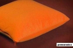 POSZEWKI POLAROWE ACTIVE na JAŚKI 50x60 ,przytulny polar wz. pomarańczowy