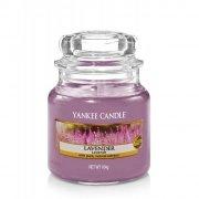 Świeca Yankee Candle Lavender - mały słoik