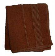 Ręcznik Bambusowy Moreno rozmiar 50x90 - Czekolada