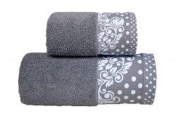 Ręcznik MELISSA 50x90 kolor stalowy
