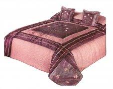 Narzuta na łóżko 220x240 + 2 poszewki 40x40 wz. Wiktoria 29