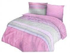 Pościel bawełniana Premium DARYMEX kolekcja Exclusive 160x200 lub 140x200 - Pelin Pink