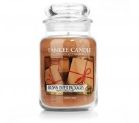 Świeca Yankee Candle Brown Paper Packages - duży słoik