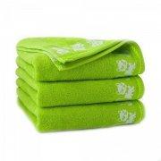 Ręcznik frotte KITI 70x130 kolor zieleń fluorescencyjna