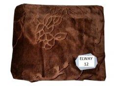 Koc akrylowy z tłoczeniem Elway, 160x210 wz. A12