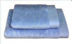 Ręczniki BAMBOO STYLE Andropol 70x140 wz. pudrowy niebieski