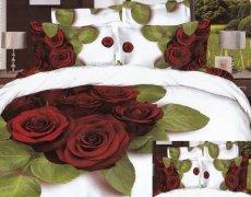 Pościel 3D satyna bawełniana roz. 160x200 wz. 3D174
