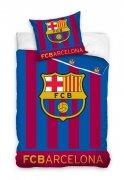 Pościel sportowa licencyjna ŚWIECĄCA 100% bawełna 160x200 lub 140x200 - Barcelona