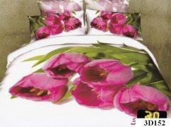 Pościel 3D satyna bawełniana roz. 220x200 wz. 3D152