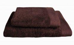 Ręczniki BAMBOO STYLE Andropol 70x140 wz. Czekolada