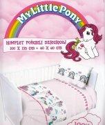 Pościel dziecięca Licencyjna do łóżeczka 100x135 wz. Little Pony różowy