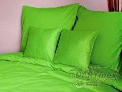 Poszewka na poduszki 50x60 satyna zapięcie na zamek ANDROPOL wz. nowa zielen 014