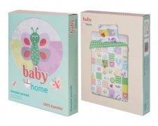 Pościel dziecięca licencyjna do łóżeczka 100x135 Baby Home - wz. pszczolki