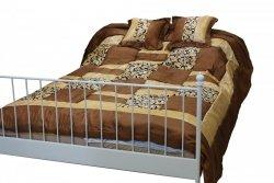 Narzuta na łóżko 240x260 + 2 poszewki 40x40 wz. Wiktoria 17