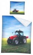 Pościel młodzieżowa 100% bawełna 160x200 lub 140x200 - Traktor wz. 2724A