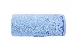 Ręcznik BELLA 70x140 kolor błękitny