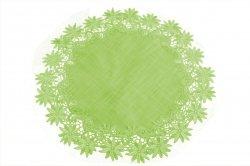 Obrus 60 koło wz. 606 Kolor: Zielony