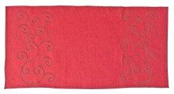 Obrus Haftowany Bruna 60x120 cm kolor: Czerwony wz. 839-R