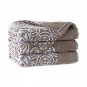 Ręcznik frotte ENRICA 50x100 kolor beżowy