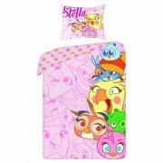 Pościel licencyjna 100% bawełna 160x200 lub 140x200 - Angry Birds Stella 3s