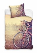Pościel młodzieżowa 100% bawełna 160x200 lub 140x200 - Rower NL161006