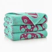 Ręcznik plażowy KLAPKI seledynowe - rozmiar 100x160