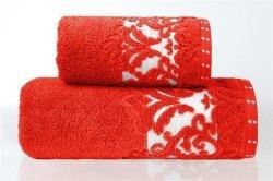Ręcznik VENEZIA 50x90 kolor czerwony
