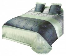 Narzuta na łóżko 180x220 + 2 poszewki 40x40 wz. Wiktoria 01